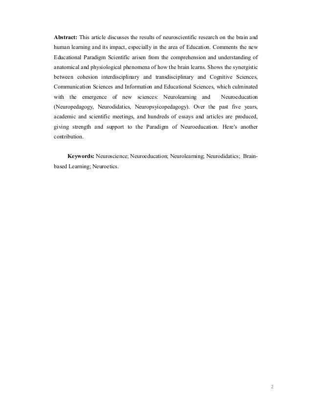 Artigo suzane neuroeducação Slide 2