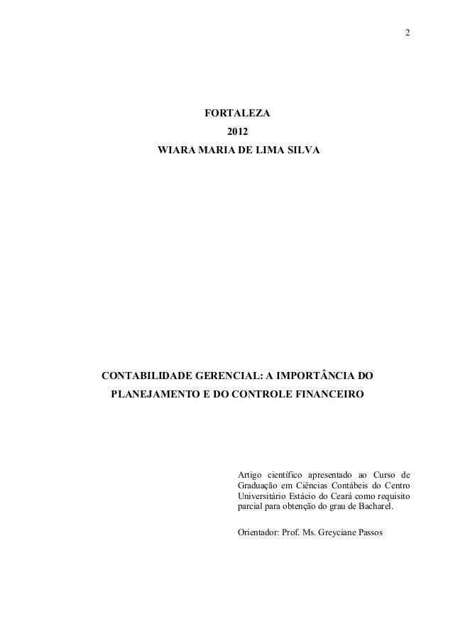 Artigo cientifico tcc