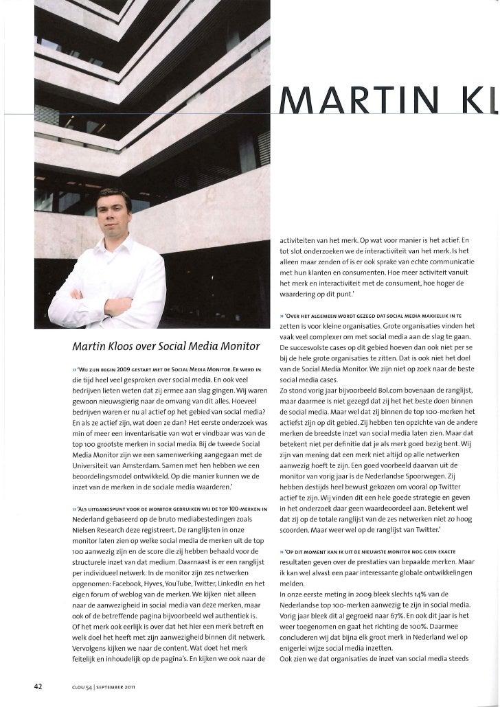Onderzoek in het nieuws: Martin Kloos van Social Embassy