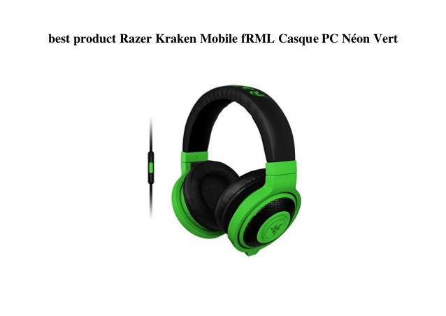 Best Product Razer Kraken Mobile Frml Casque Pc Néon Vert
