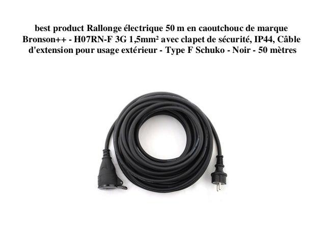 En caoutchouc H07RN-F 3/G1,5/C/âble en caoutchouc 3/X 1,5/Mm/² qualit/é industrielle 50/m
