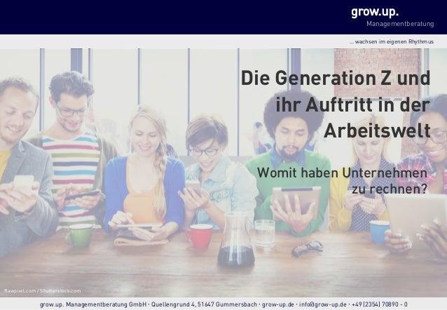 grow.up. Managementberatung … wachsen im eigenen Rhythmus… wachsen im eigenen Rhythmus grow.up. Managementberatung GmbH  ...
