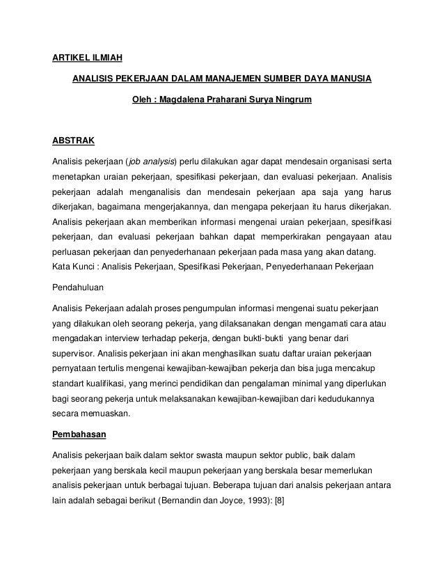 Contoh Artikel Dalam Bahasa Sunda