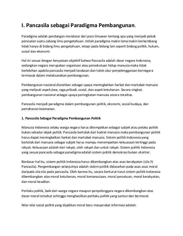 Artikel Pendidikan Kewarganegaraan Pancasila