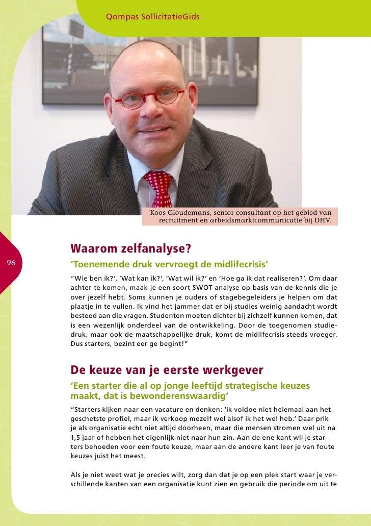 Qompas SollicitatieGids                                   Koos Gloudemans, senior consultant op het gebied van            ...