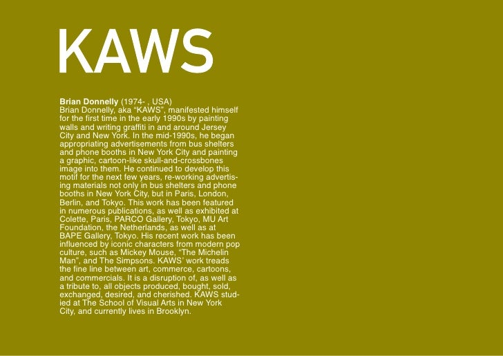 KAWS for Kanye West