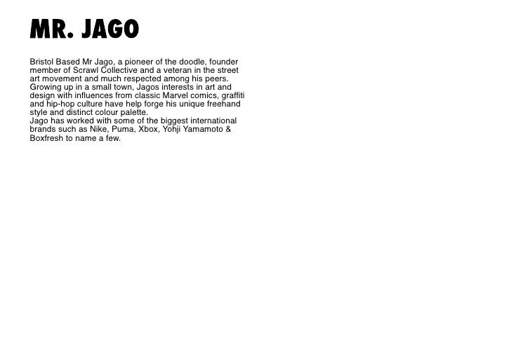 Mr. Jago  Unknown title