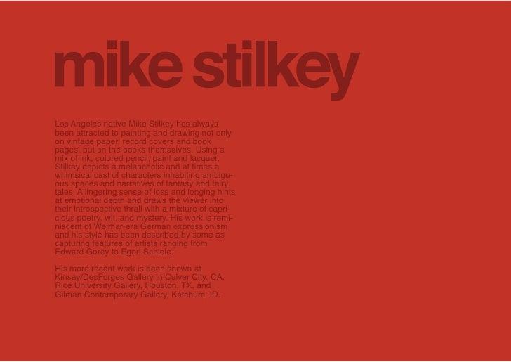 Mike Stilkey      Unknown title