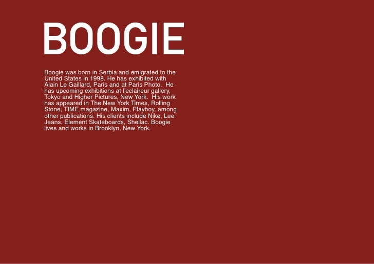 Boogie    x Nike