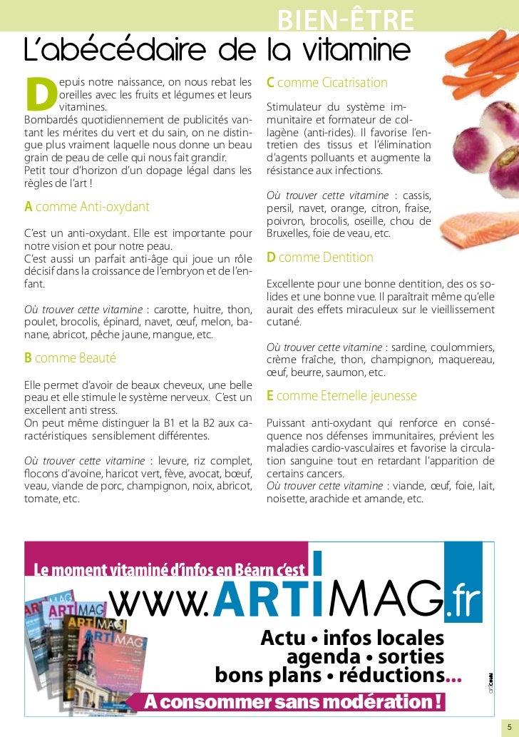 BIEN-êtrEL'abécédaire de la vitamineD                                                      C comme Cicatrisation        ep...