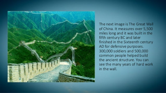 great wall of china details pdf