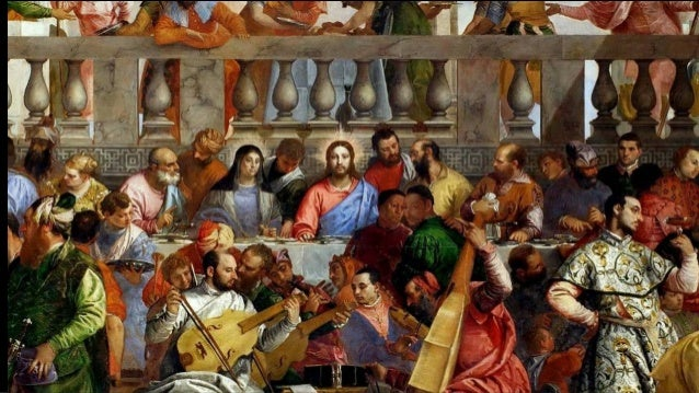 Wedding Feast At Cana.Art In Detail The Wedding Feast At Cana By Veronese Paolo