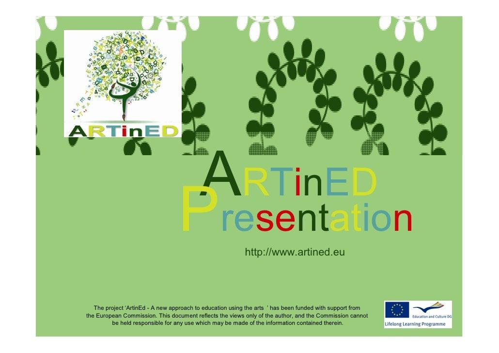 ArtinEdPresentation                                     ARTinED                                    Presentation           ...