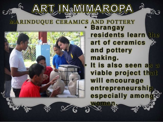 Arts In Luzon Lowland Mimaropa