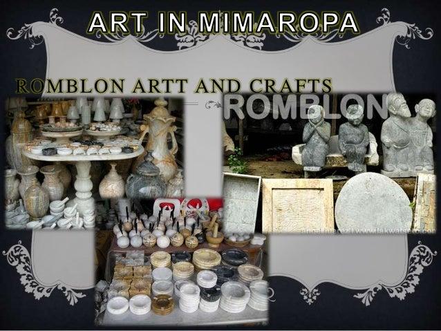 Arts In Luzon Lowland Mimaropa
