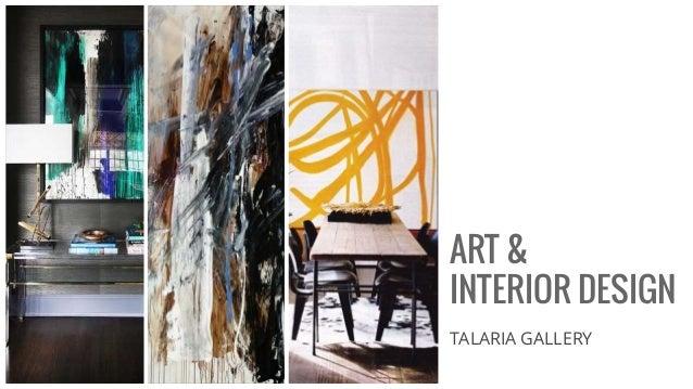 ART u0026 INTERIOR DESIGN TALARIA GALLERY ...  sc 1 st  SlideShare & Art u0026 INTERIOR DESIGN