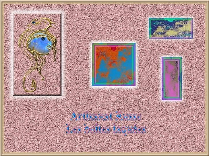 L'artisanat russe est profondément inspiré par l'art sacré de l'icône: art religieux et très formel qui existe depuis l'ép...