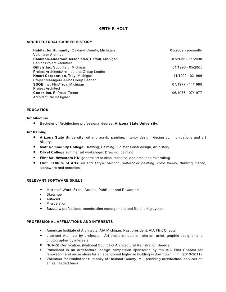 artist architect resume 01