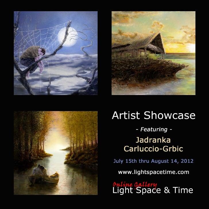 Artist Showcase - Jadranka Carluccio-Grbic - Event Postcard