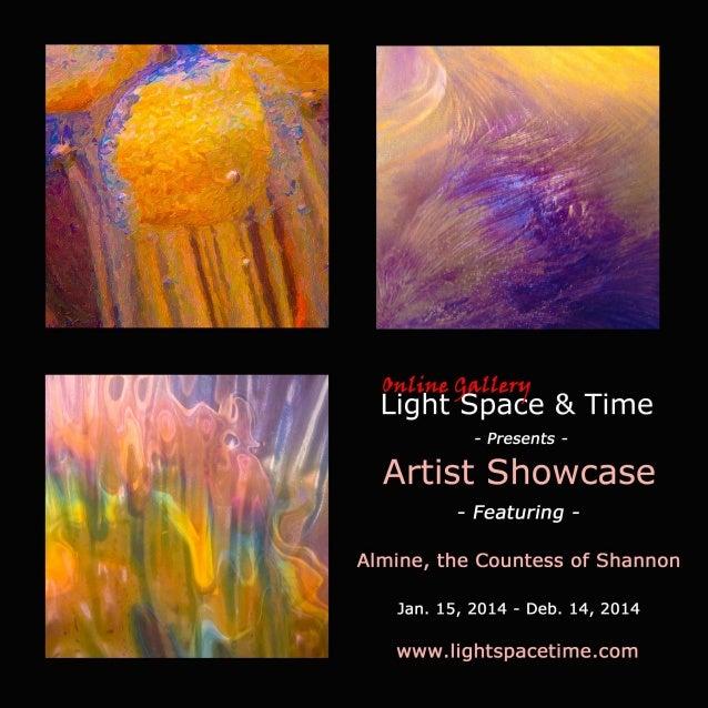 Artist Showcase - Alimine the Countess of Shannon - Event Postcard