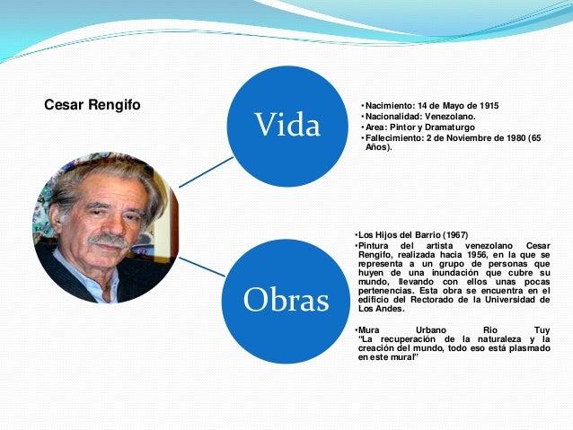 Cesar Rengifo            •Nacimiento: 14 de Mayo de 1915                Vida     •Nacionalidad: Venezolano.               ...