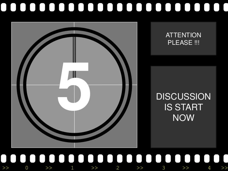 ATTENTION                                      PLEASE !!!              5                 DISCUSSION                       ...