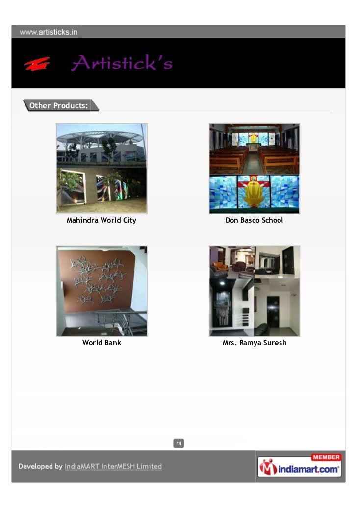 Other Products:         Mahindra World City        Don Basco School             World Bank             Mrs. Ramya Suresh  ...