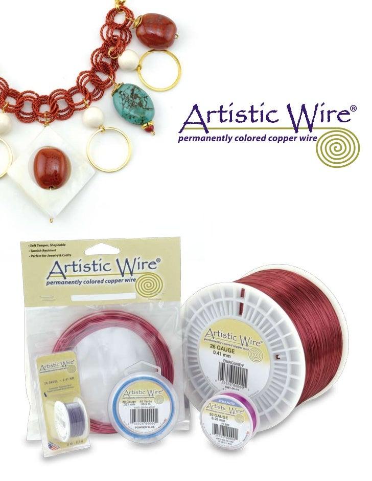Artistic wire catalog