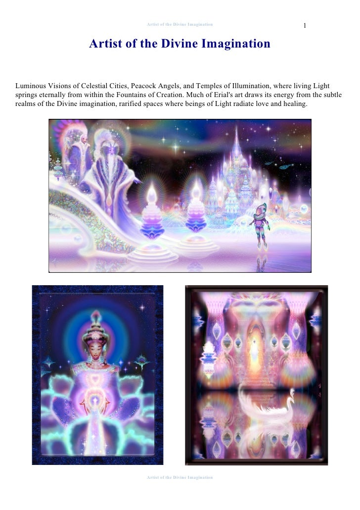 Artist of the Divine Imagination                     1                          Artist of the Divine Imagination   Luminou...