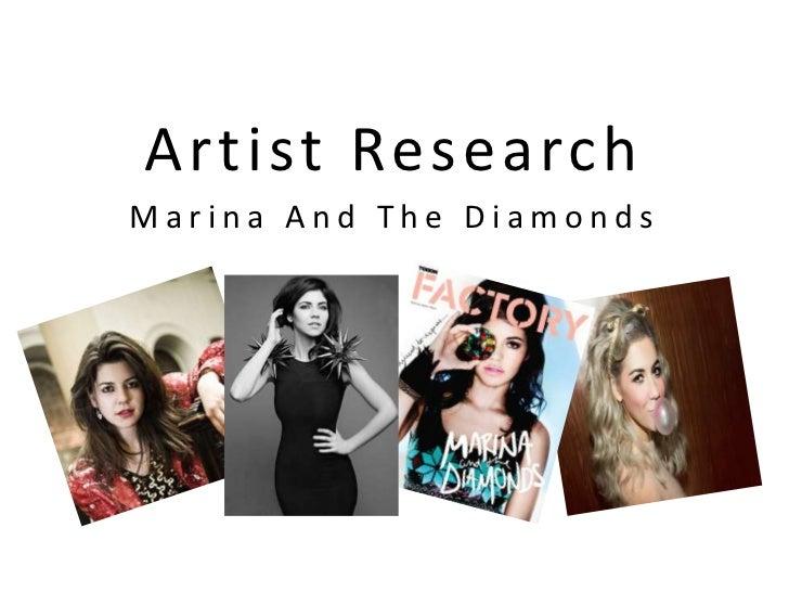 Artist ResearchMarina And The Diamonds