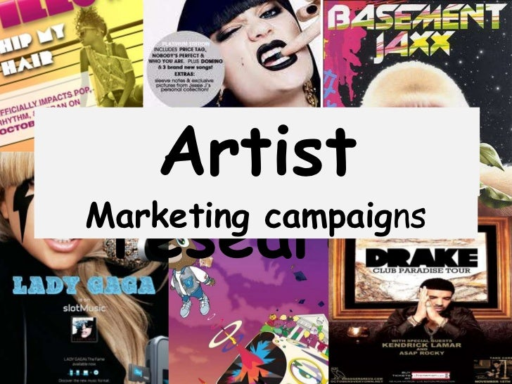 Artist researchMarketing campaigns