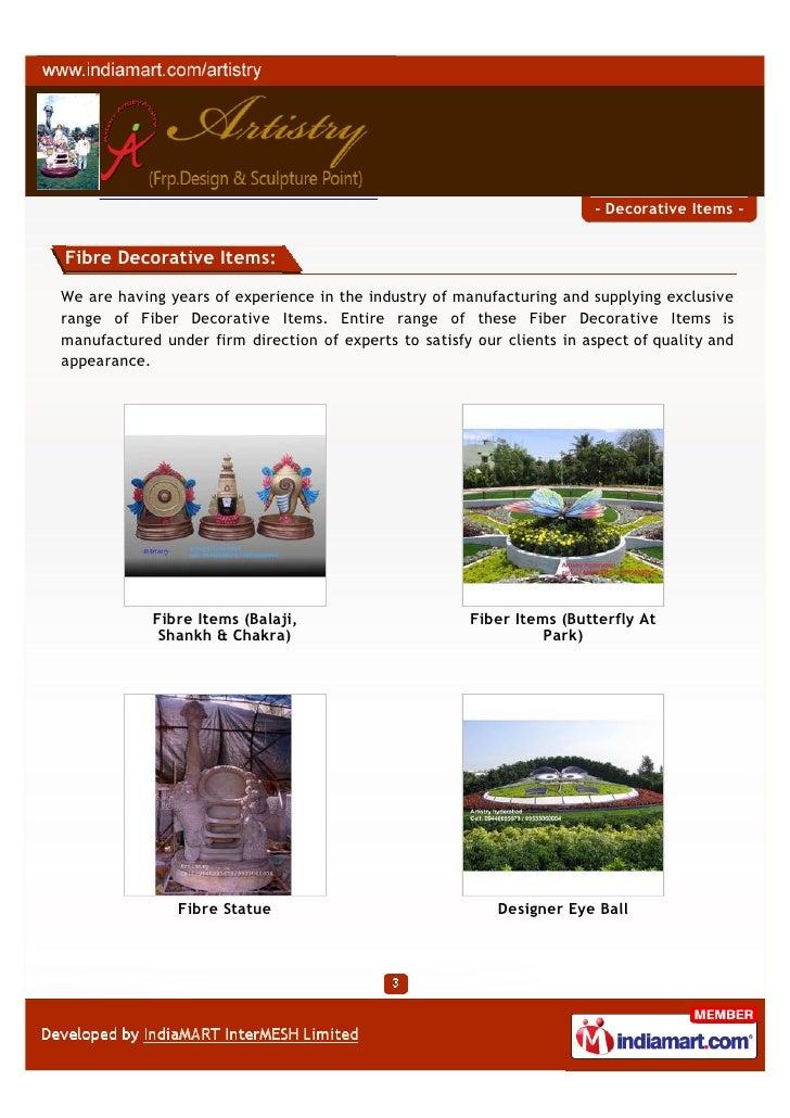 Artistry Hyderabad Decorative Items