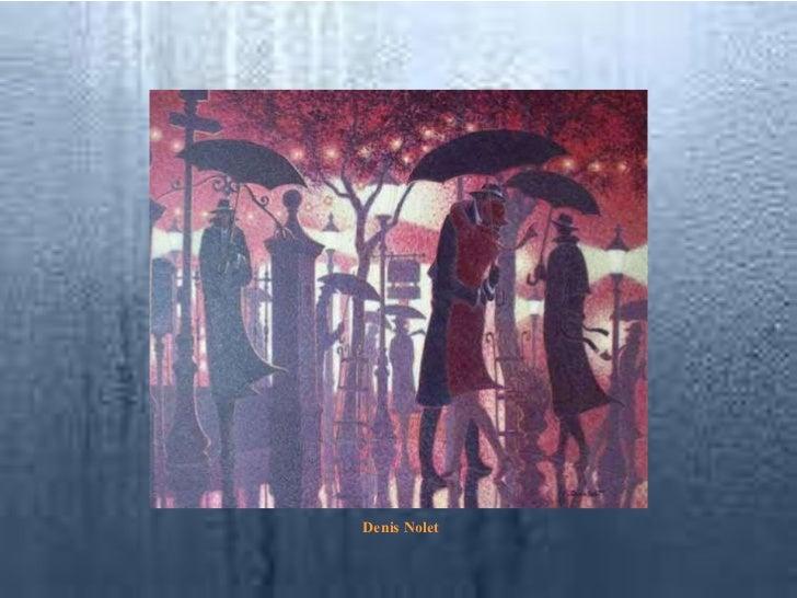 Artists draw rain Slide 3