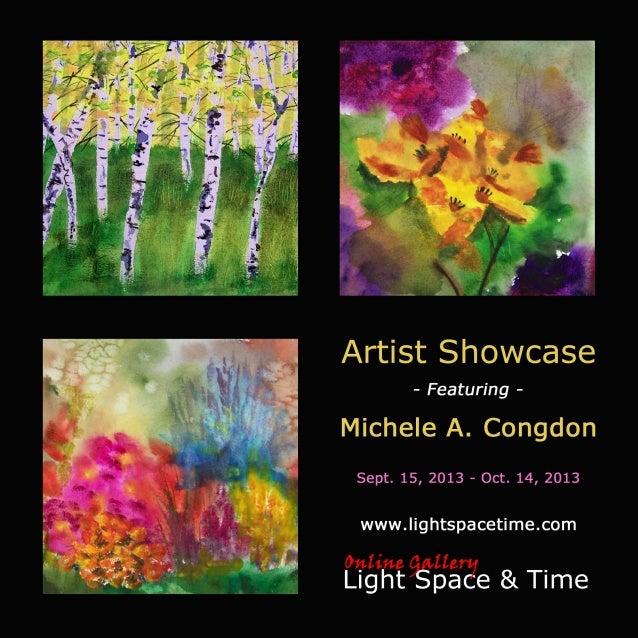 Artist Showcase - Michele A. Congdon - Event Postcard