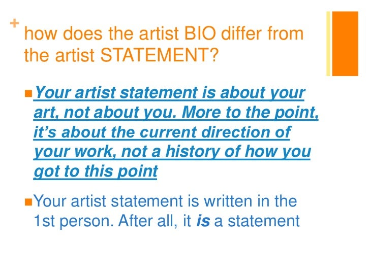 Sample Artist Statement Image Titled Write An Artist Statement