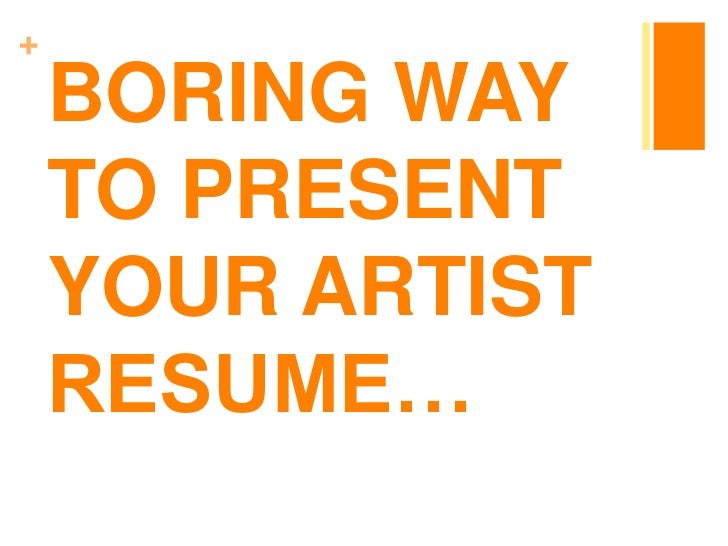 How to Write an Artist's CV When You Don't Have Much (Or Any!) Professional Experience