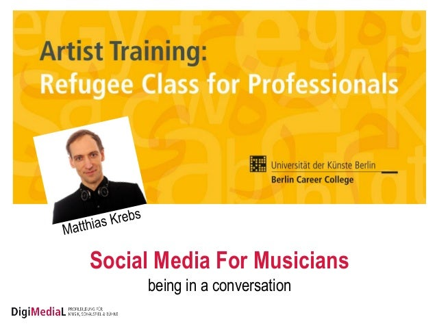Social Media For Musicians being in a conversation