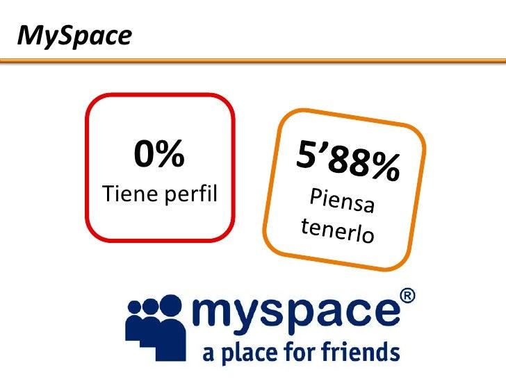 MySpace             0%      Tiene perfil