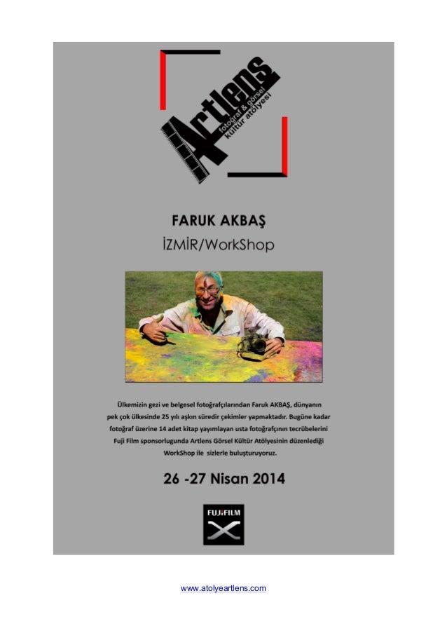 AtolyeArtlens / Faruk Akbaş Workshop Başvuru Slide 3