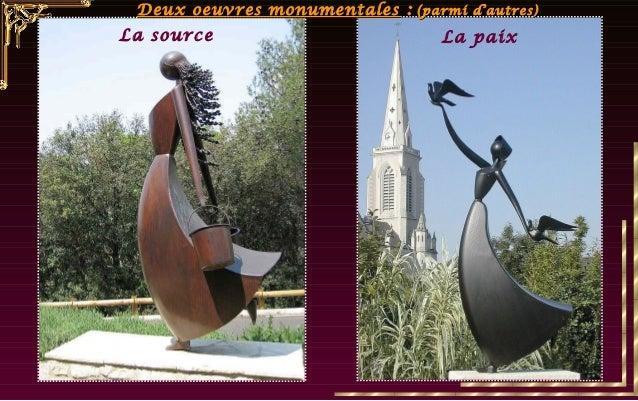 Les sculptures de J.P. Augier ont fait l'objet de moult expositions, la majorité en France, mais aussi au G.D. de Luxembou...