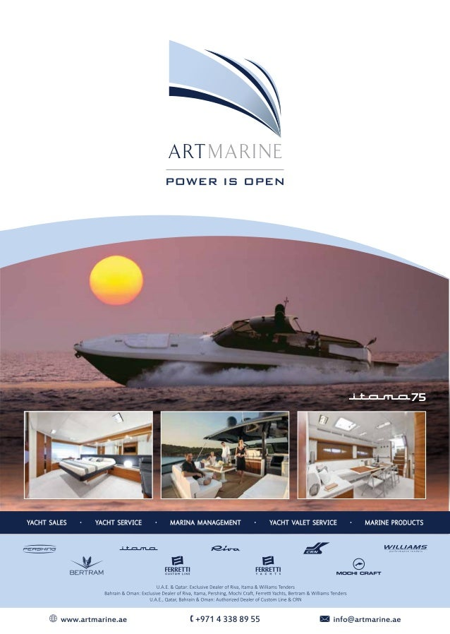 Artmarine Brokerage Bulletin Slide 2