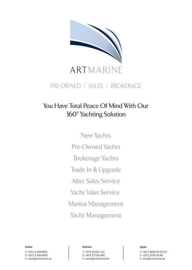 Artmarine Brokerage Bulletin Slide 3