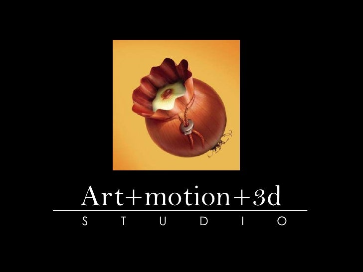 Art+motion+3d<br />STUDIO<br />