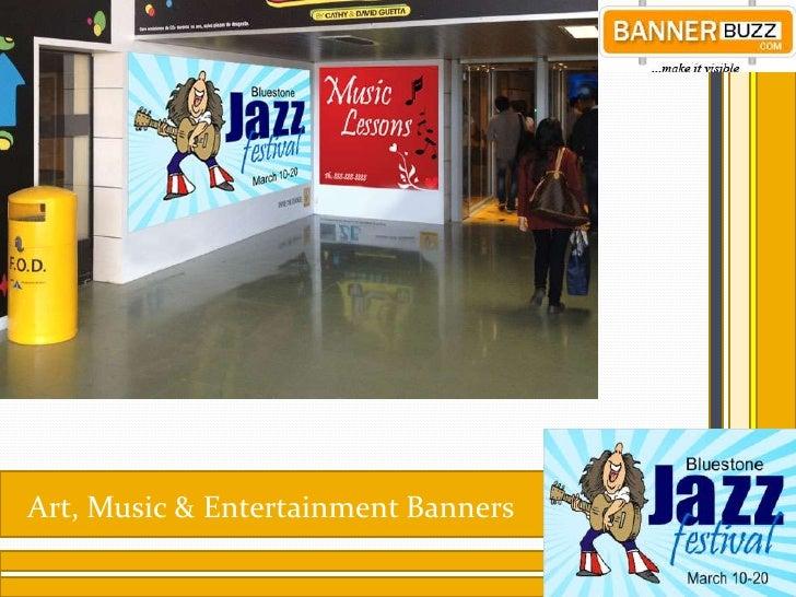 Art Music Entertainment Vinyl Banners At Bannerbuzz