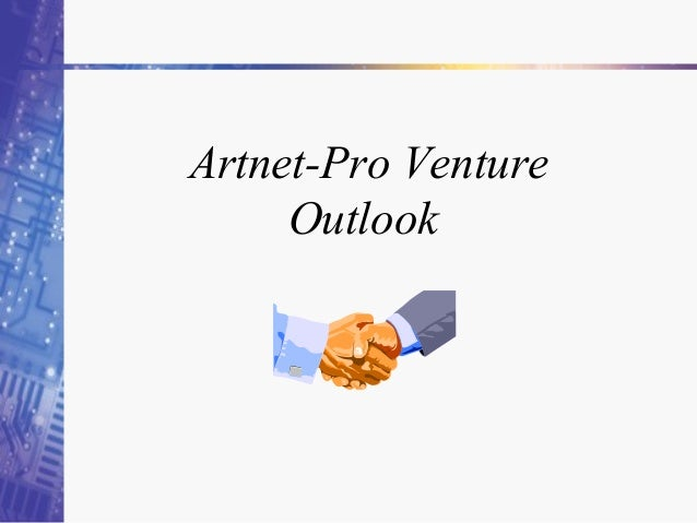 Artnet-Pro Venture Outlook