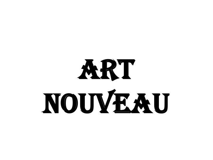 ArtNouveau