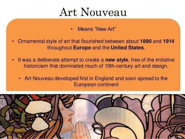 What Is Art And Design : Art nouveau