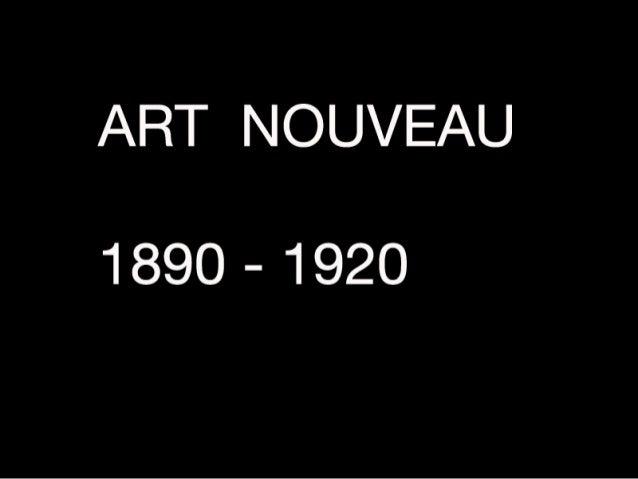 Art Nouveau Era