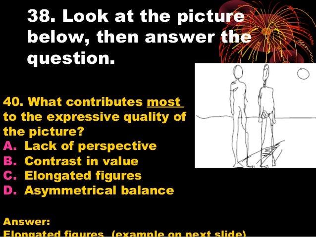 Art Objectives Practice Test