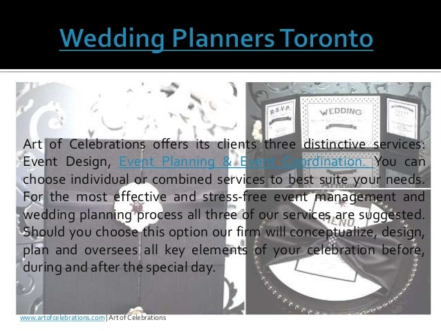 Destination Wedding Planning Companies And Event Planners In Toronto